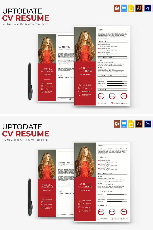 Uptodate  CV & Resume
