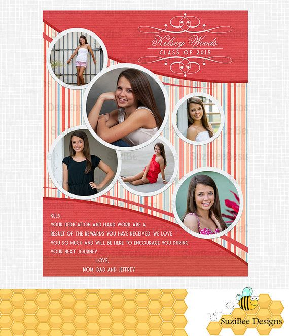 yearbook ad templates free - yearbook ad for high school senior middle school