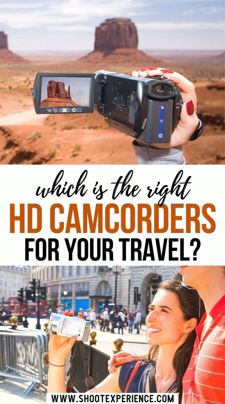 Which is the right HD Camcorders for your Travel?