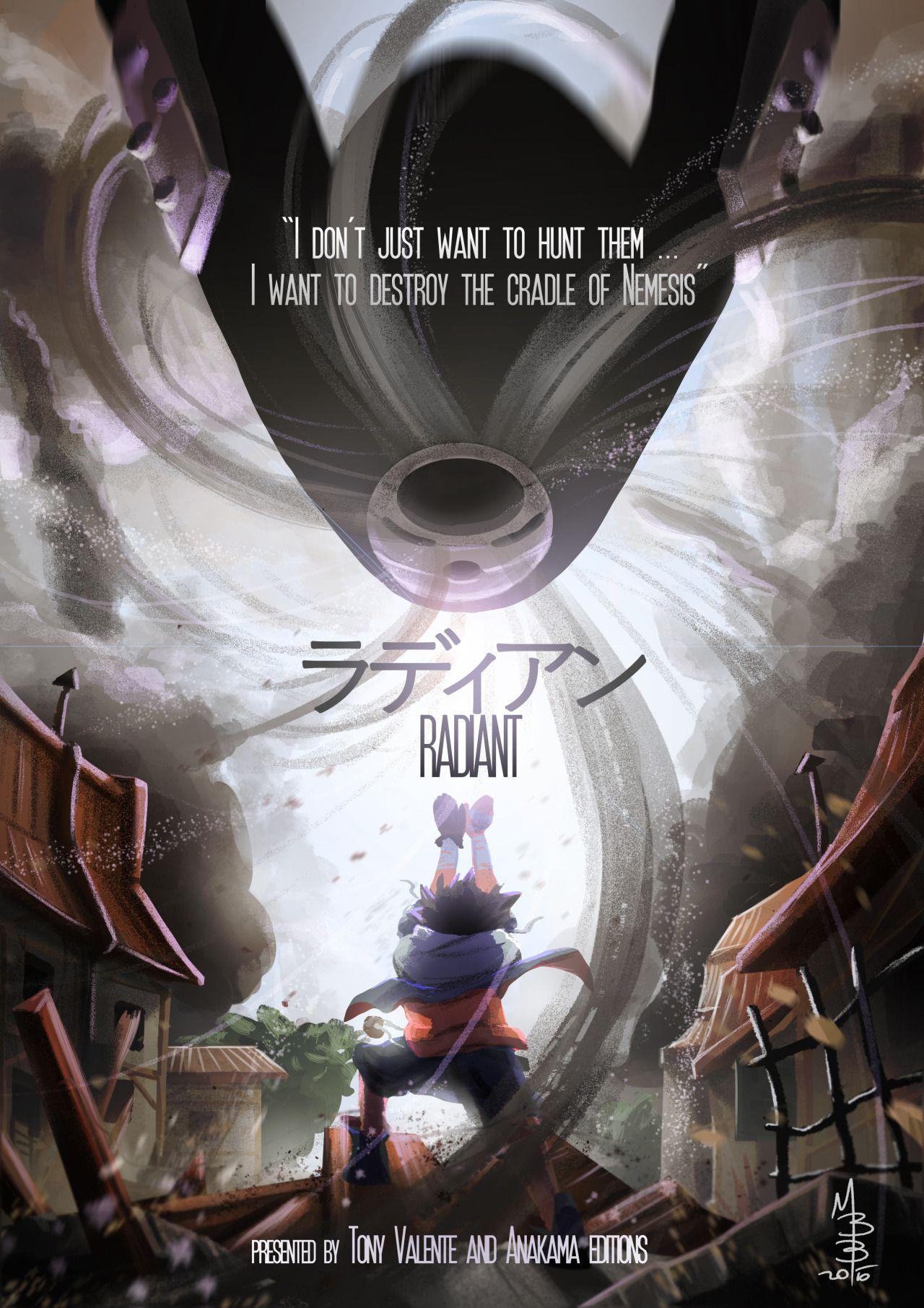 Radiant Anime japonais, Ankama, Anime