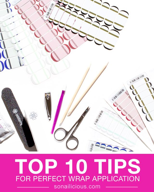 How to apply Jamberry nails || Jamberry nails application tips - TOP 10 tips and tricks