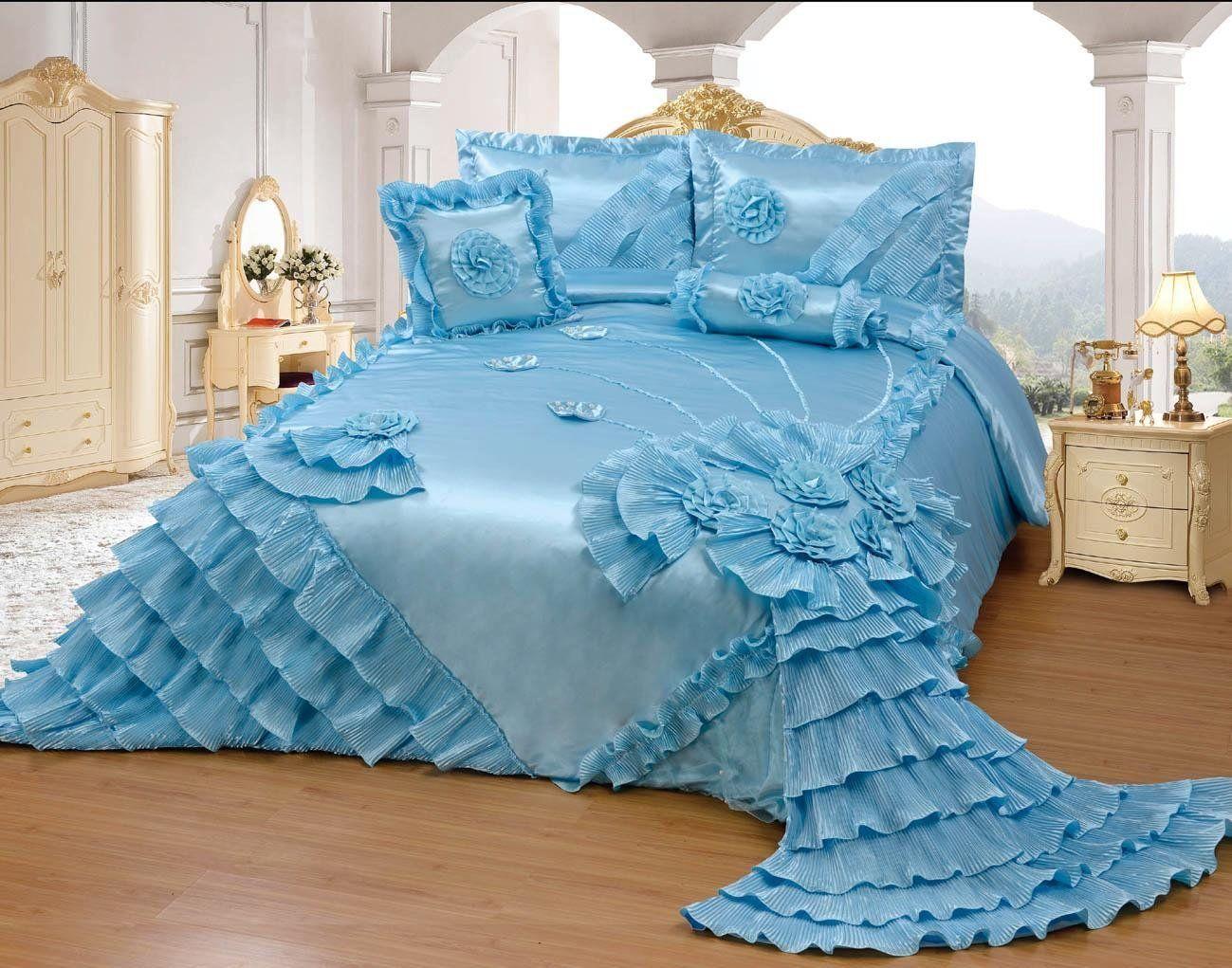 comforters oversize quilt queen amazon bedspread set quilts kitchen full octorose gold wedding royalty home bedding and com dp