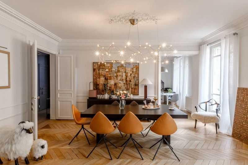 Audrey appartement parisien décoration inspiration 4 jpg 北欧 pinterest interiors salons and room