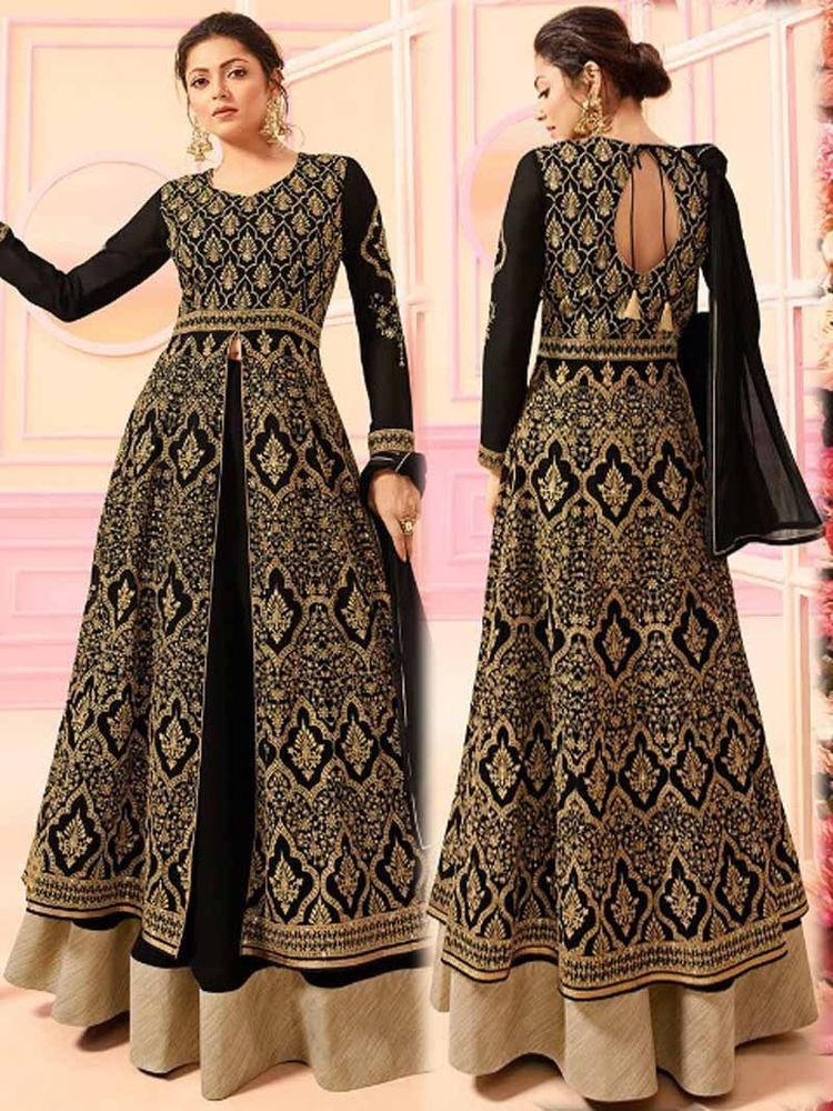 89497aa0bb Bollywood Long anarkali Indian Ethnic wedding Wear party dress ethnic Gown  suit #Handmade #Anarkali