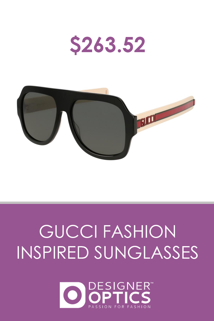 9a4fcc30374e $263.52 These #Gucci #sunglasses are on top of haute couture. Top off any  of your high-fashion pieces with this gutsy pair. Order now and get it  within 2-3 ...