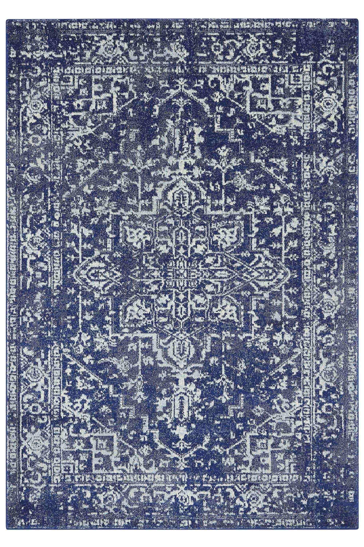 Zita Moroccan Rug, Blue - Bhs