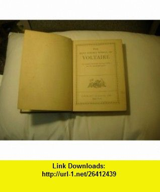 The best known works of voltaire the complete romances including the best known works of voltaire the complete romances including candide the philosophy of fandeluxe Gallery