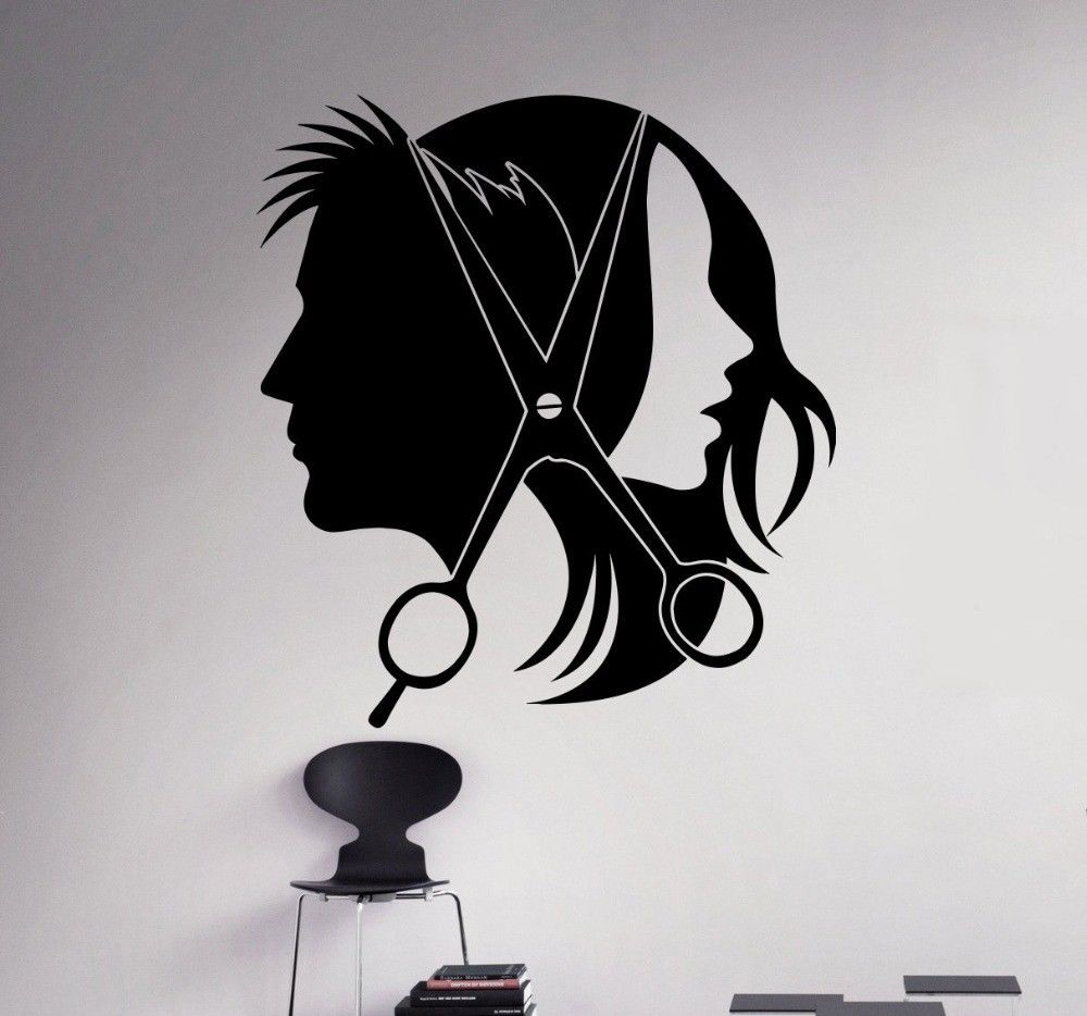 Details About Beauty Salon Wall Decor Vinyl Decal Washing