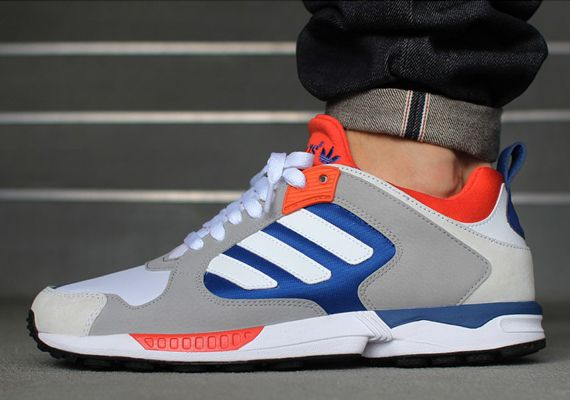 adidas Originals ZX 5000 Response: White/Blue/Orange