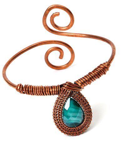 DIY Bijoux – Basic wire weaving – Making Jewellery Magazine – Crafts ...