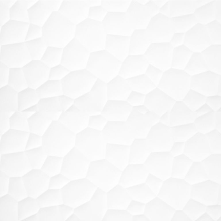 Spanish Decorative Wall Tiles Fascinating 1000X333Mm Prism Bright White Spanish Decorative Wall Tile #4007 Inspiration Design