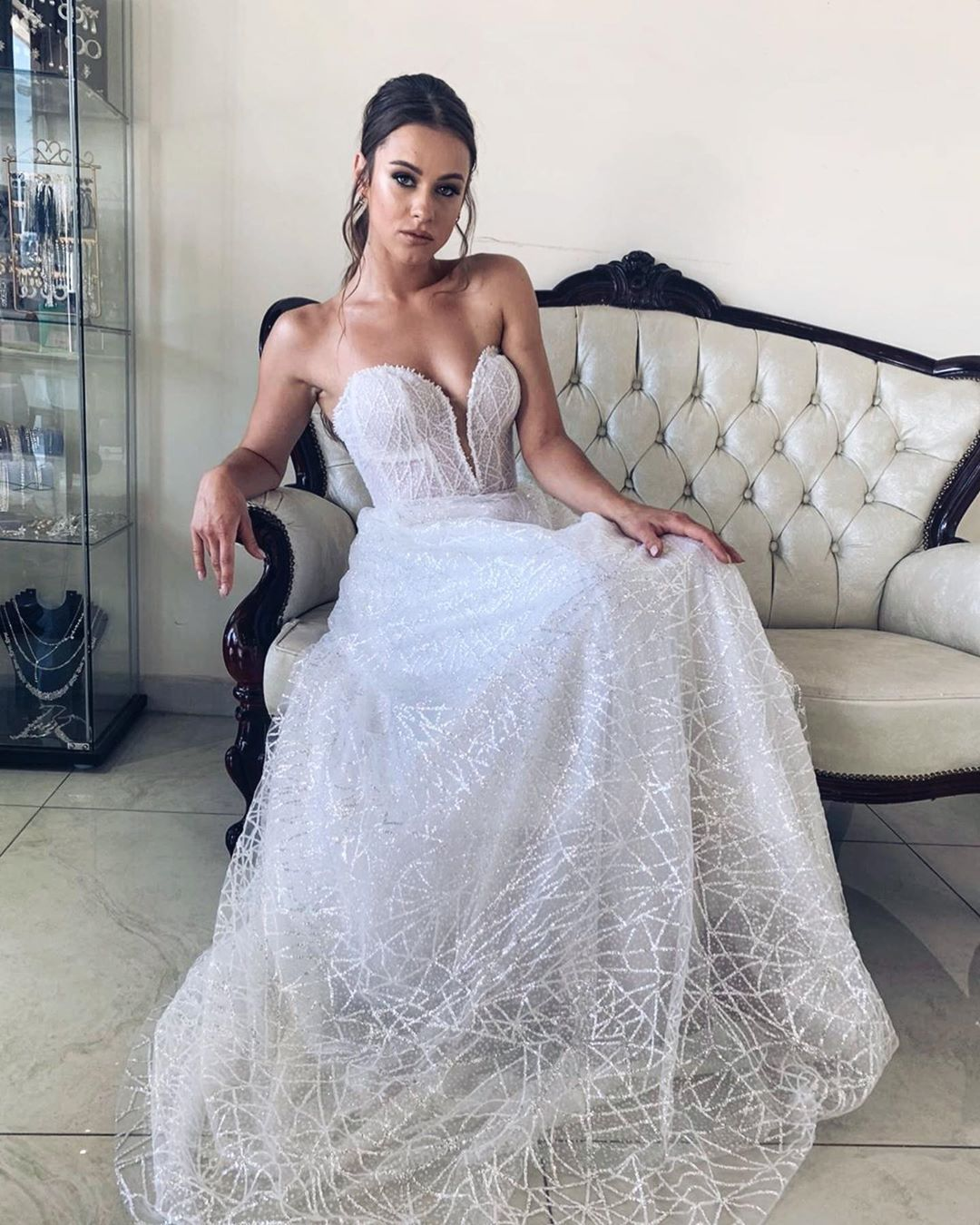 Stunning Julia In Our New Collection Dress 2021 By Natalisisauri Official Fashion House Hair Malibrooks Ha In 2020 Evening Gowns Dress Collection Wedding Dresses