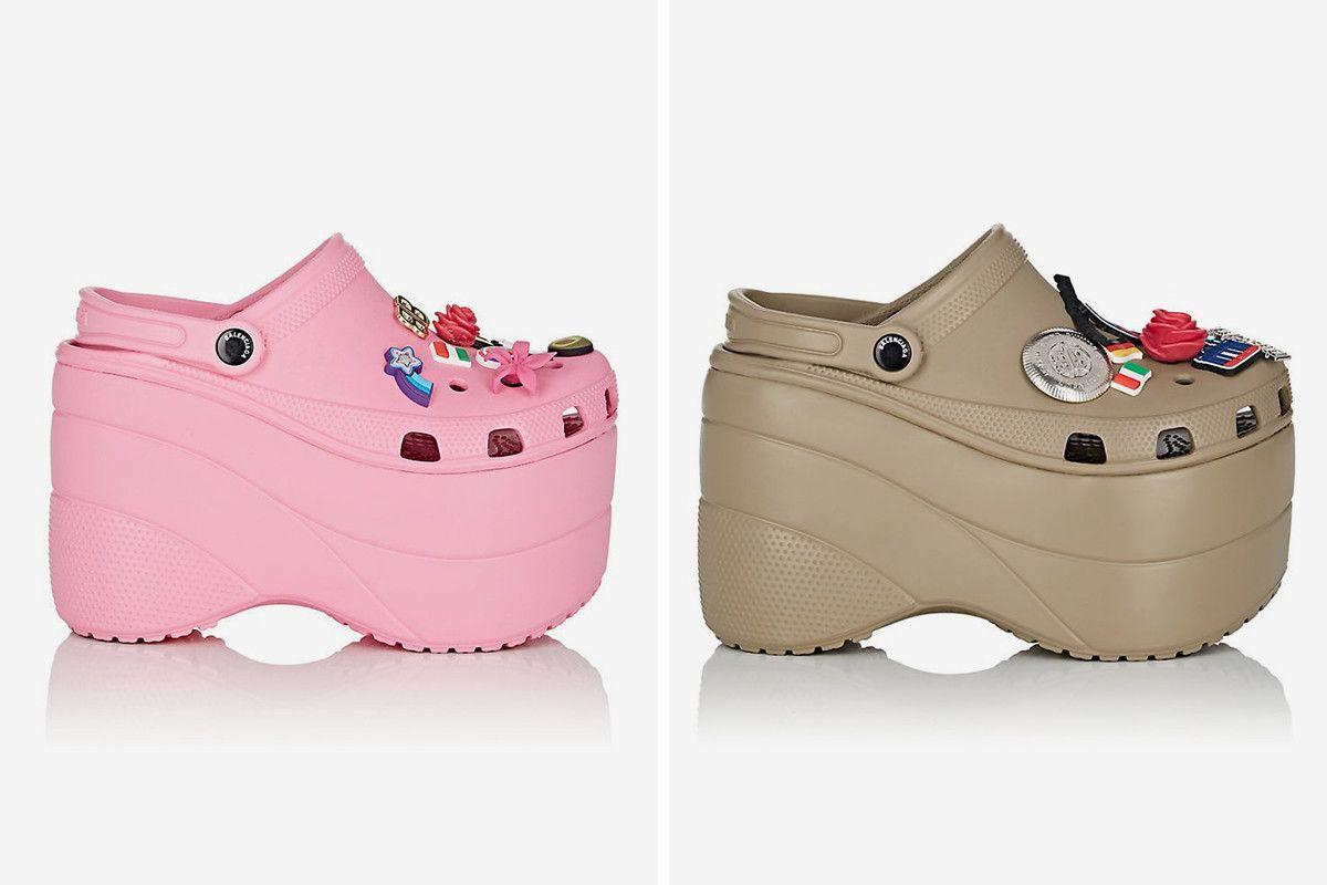 Balenciaga Platform Crocs: Release Date