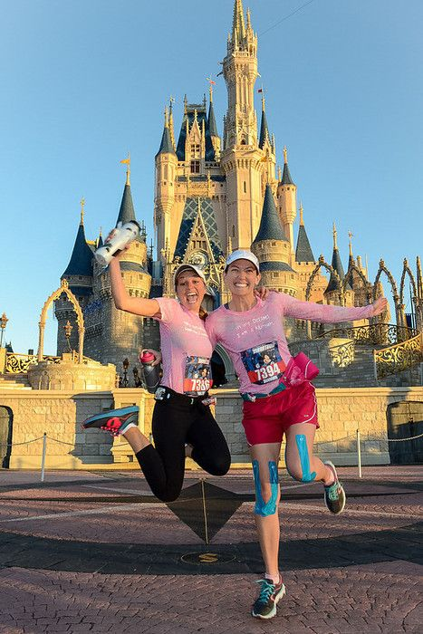 At 5:30 am last Sunday, my best friend Niki and I threw a jaunty wave at Mickey Mouse as he encouraged us to have a great run.Six hours and six minutes later, we limp-ran across …