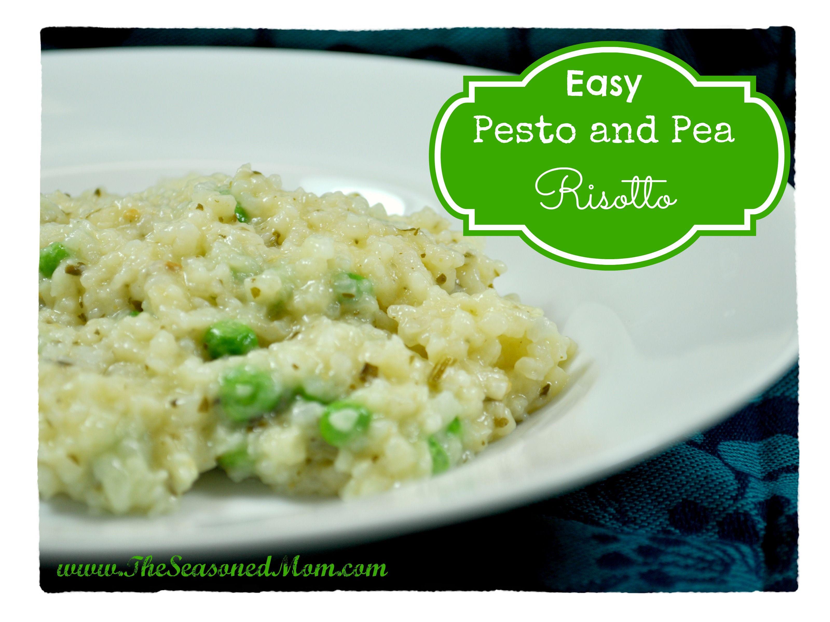 Easy Pesto And Pea Risotto Recipe Risotto Pesto And Oven