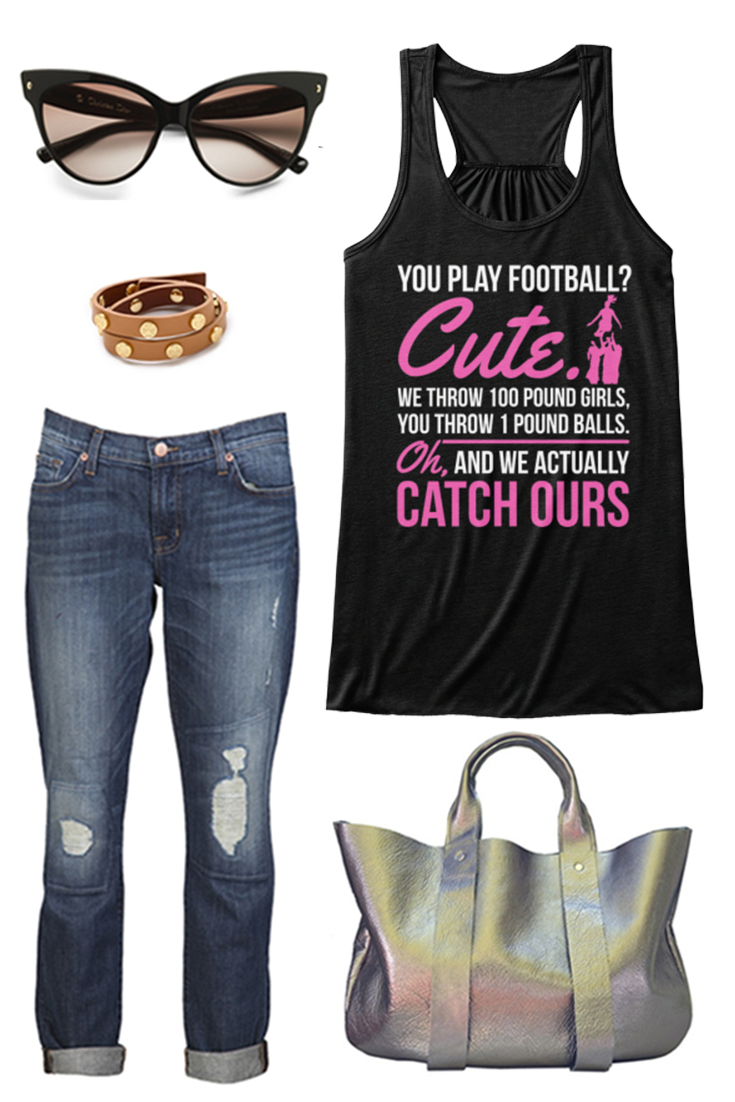 Cute - Cheerleader | Awesome Tees | Cheer outfits, Fashion ...