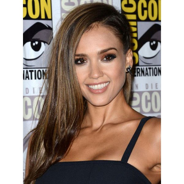 Pin By Loren On Polyvore Jessica Alba Hot Jessica Alba Hair Braided Hairstyles