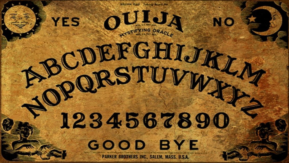 graphic relating to Ouija Board Printable titled Ouija board printable  ouija message boards Ouija, Paranormal