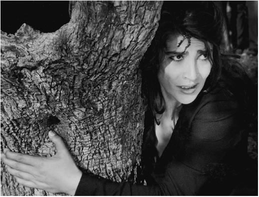 Irene Papas as the widow in Zorba the Greek. Very harrowing scene but she's excellent.