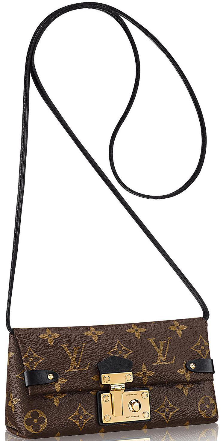 83df41db66e Louis Vuitton Triangle Chain Wallet   Bragmybag   Louis Vuitton ...
