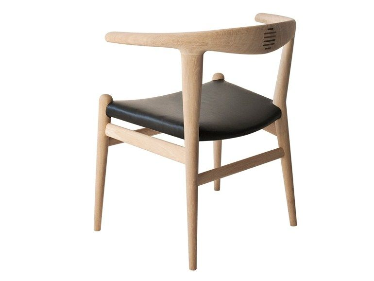 Sedia in legno massello PP518 THE BULL CHAIR by PP Møbler | design ...