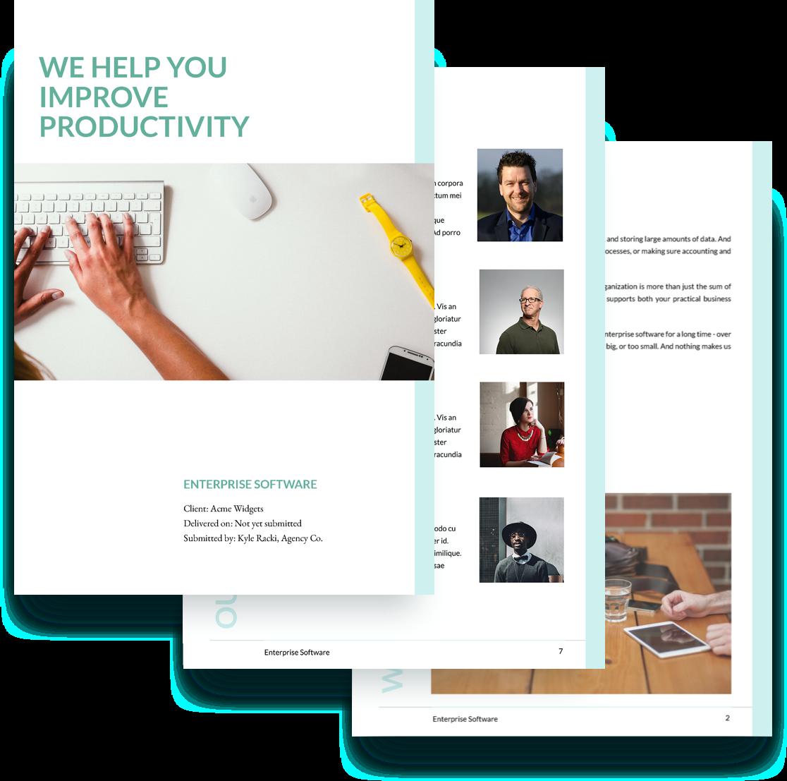 Enterprise Software Proposal Template This Free Enterprise
