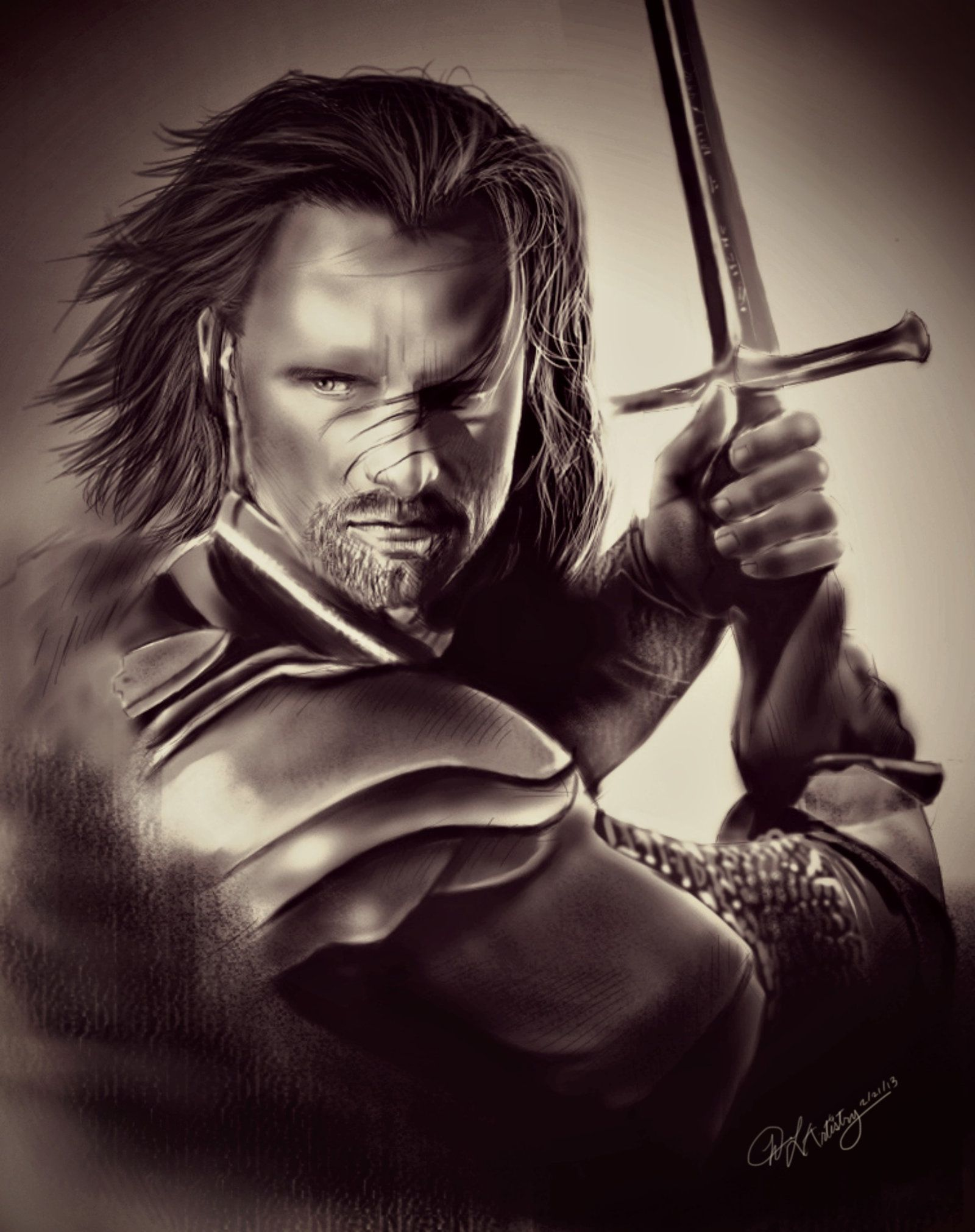 D Nadain, The Heir Of Isildur Elendils Son Of Gondor
