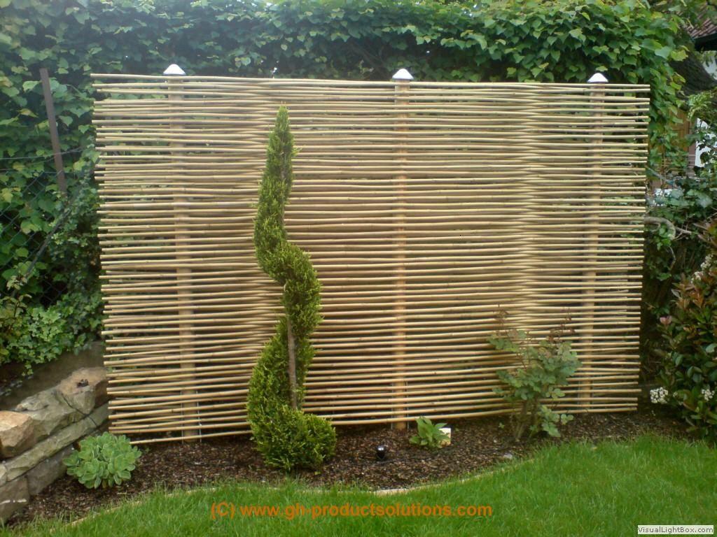 Bildergallery Bambus Sichtschutz Bambus Sichtschutz