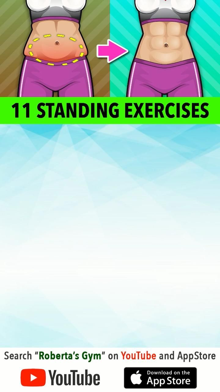 11 Best Standing Belly Fat Burn Exercises
