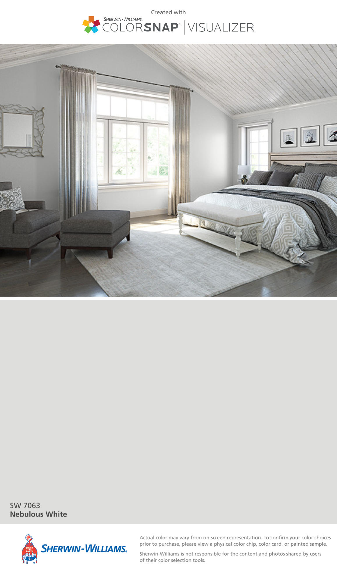 Sherwin williams paint colors sherwin williams 6249 storm cloud - I Found This Color With Colorsnap Visualizer For Iphone By Sherwin Williams Nebulous