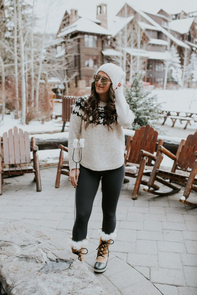How to dress in winter in colorado