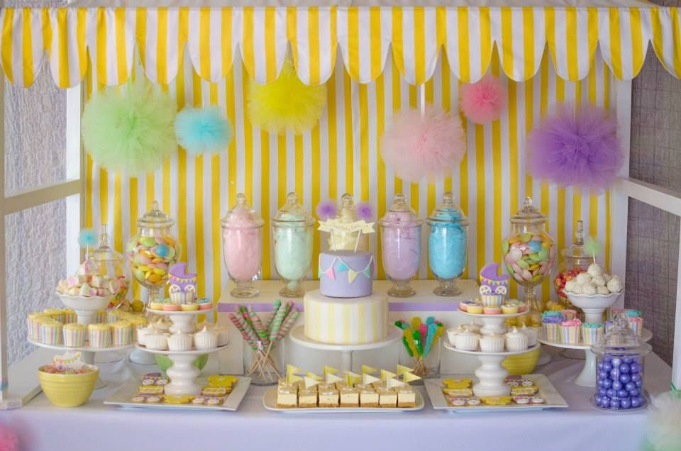 Little Big Company The Blog Fairy Floss Pastel Baby Shower By