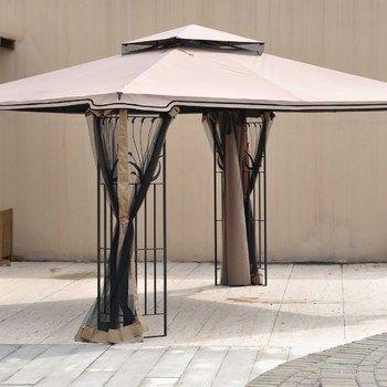 SunjoyDirect.com - Sunjoy WalMart 10x12 Leaf Steel Gazebo Canopy Replacement Fabric & SunjoyDirect.com - Sunjoy WalMart 10x12 Leaf Steel Gazebo Canopy ...