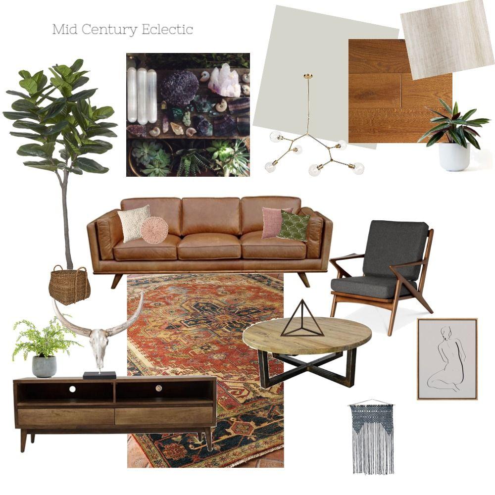 Mid Century Living Room Interior Design Mood Board By Hannahc Mid Century Living Room Mood Board Living Room Mid Century Modern Living Room