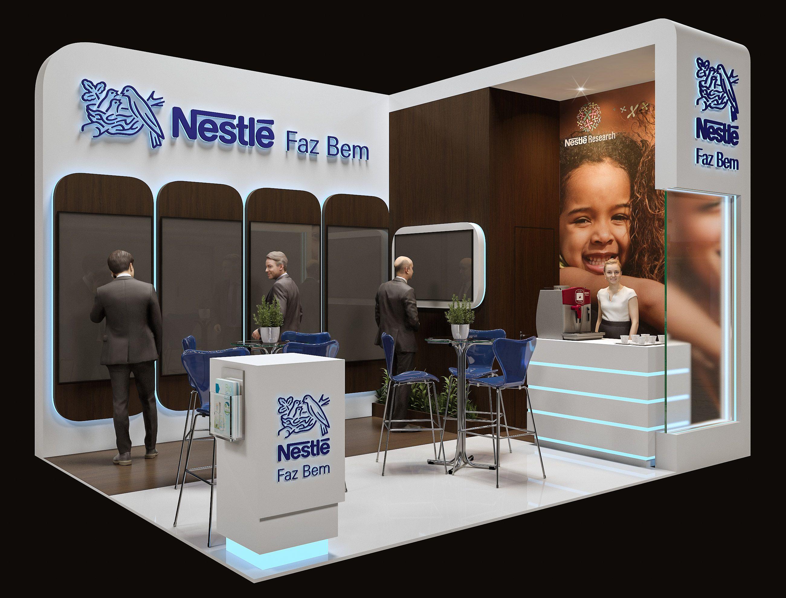 Exhibition Stand Installer Jobs : Stand nestlé design exhibition stand design exhibition booth