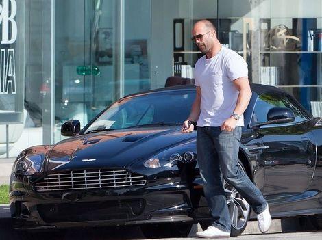 Jason Statham S Black Aston Martin Dbs Volante Aston Martin Dbs Volante Aston Martin Dbs Aston Martin