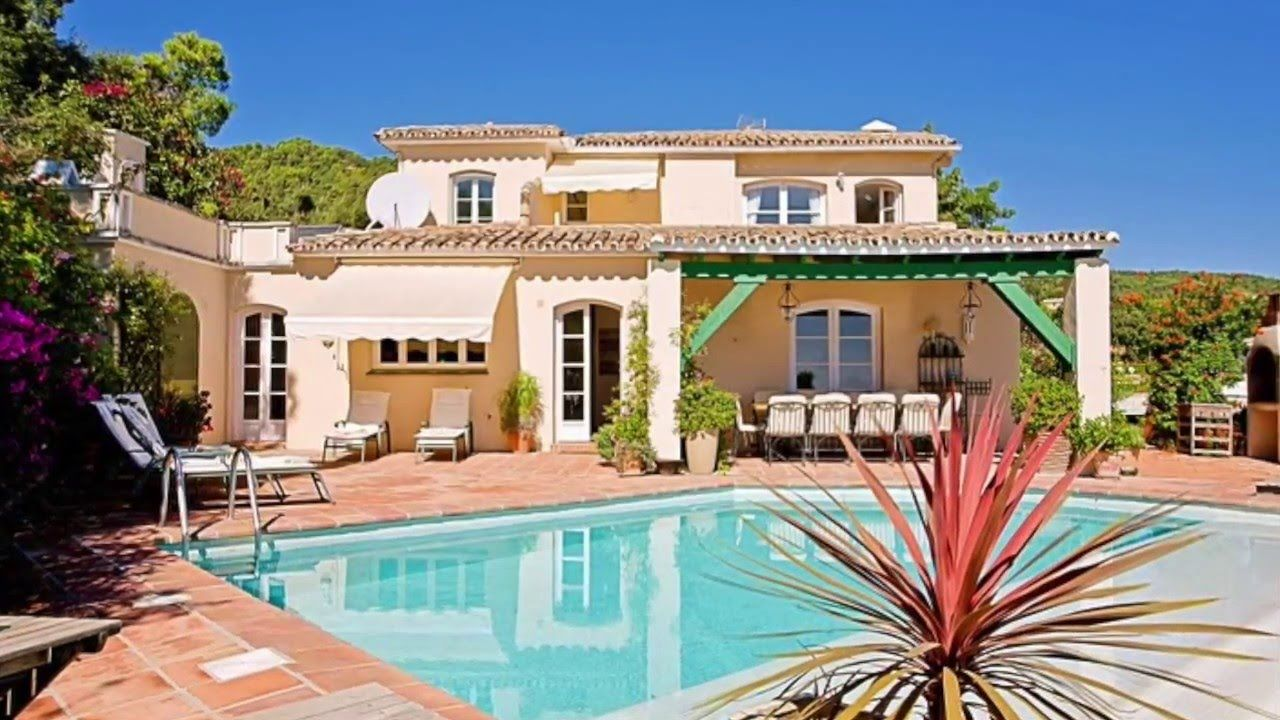 Location Villa Piscine MarbellaLocation Villa #Marbella Bord Mer #Holiday  #Holiday #Rental #
