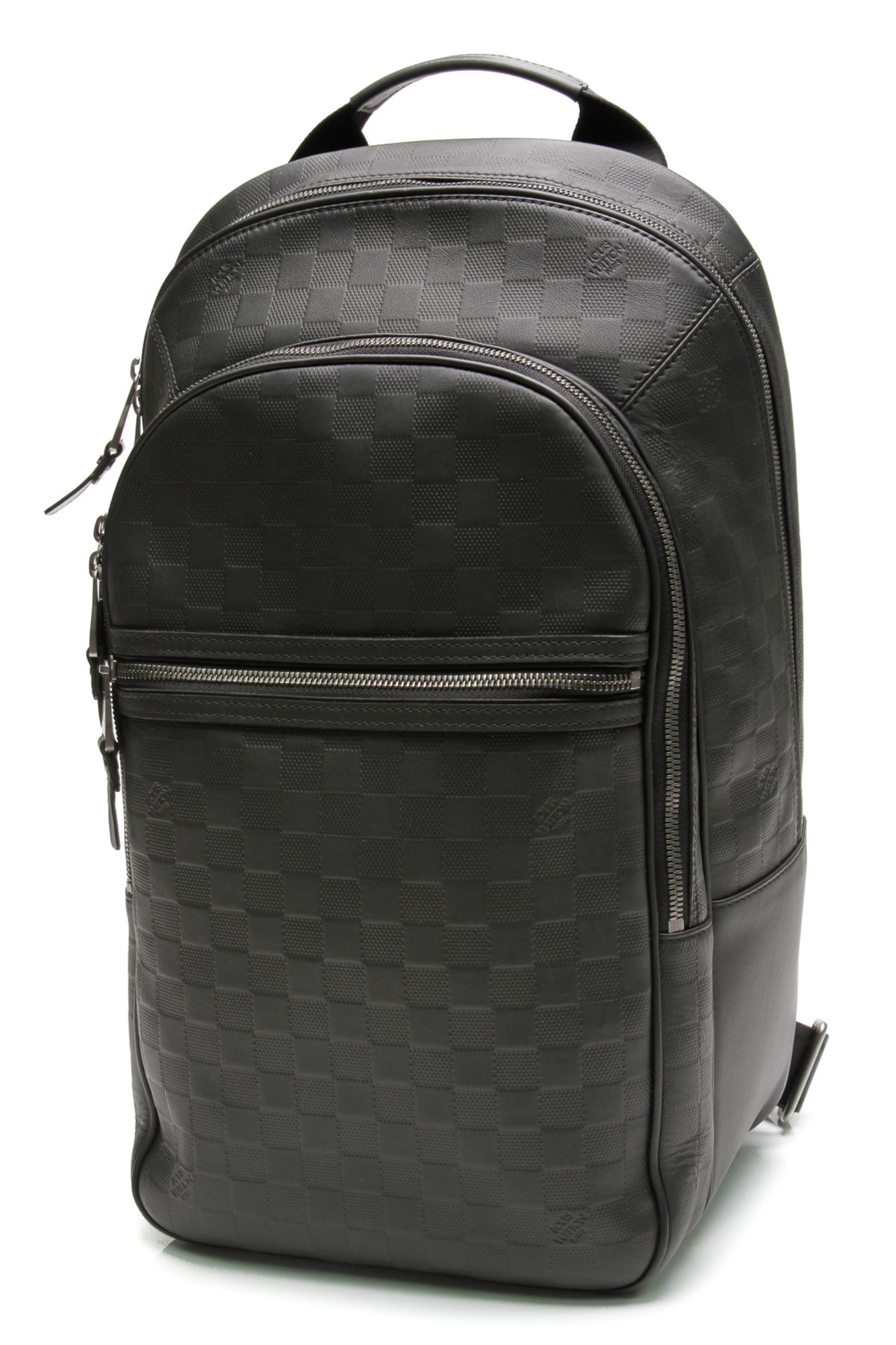 bc174808613d Louis Vuitton Onyx Damier Infini Leather Michael Backpack