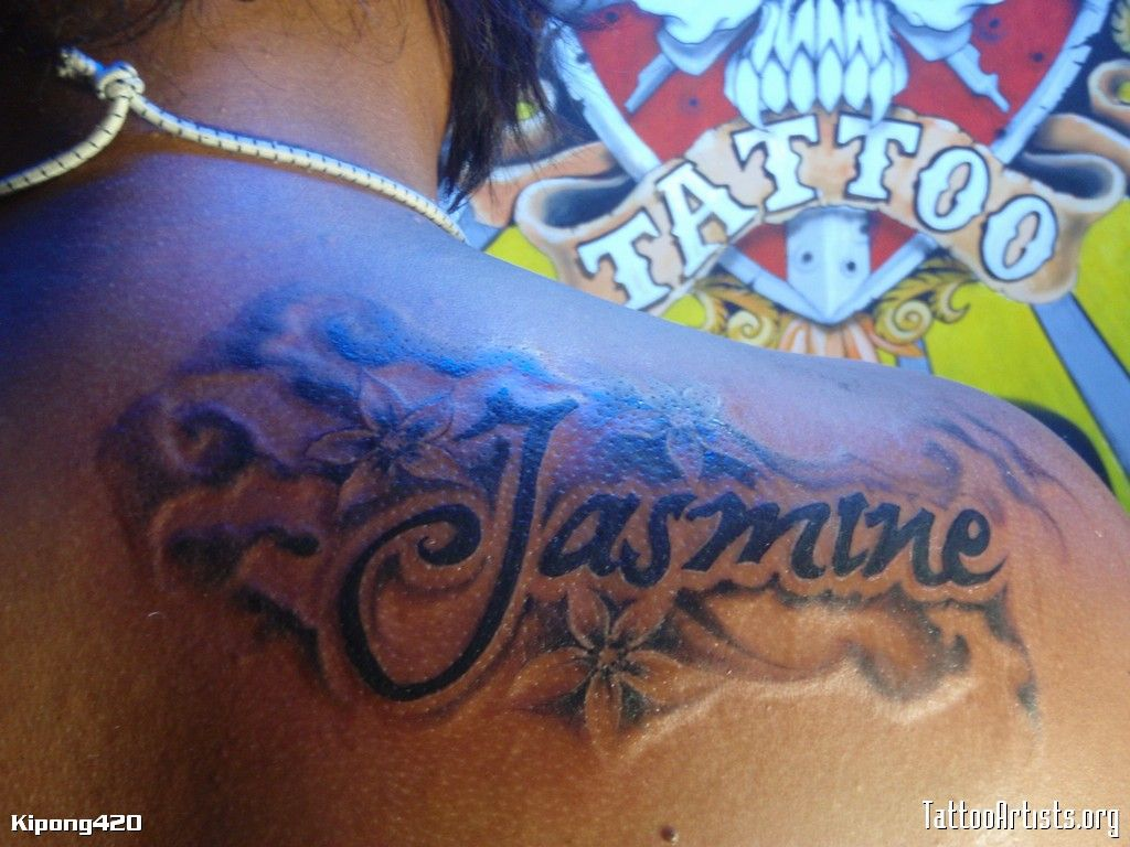 e87b3c4b476bc jasmine - Tattoo Artists.org | JASMINE | Jasmine tattoo, Tattoo ...