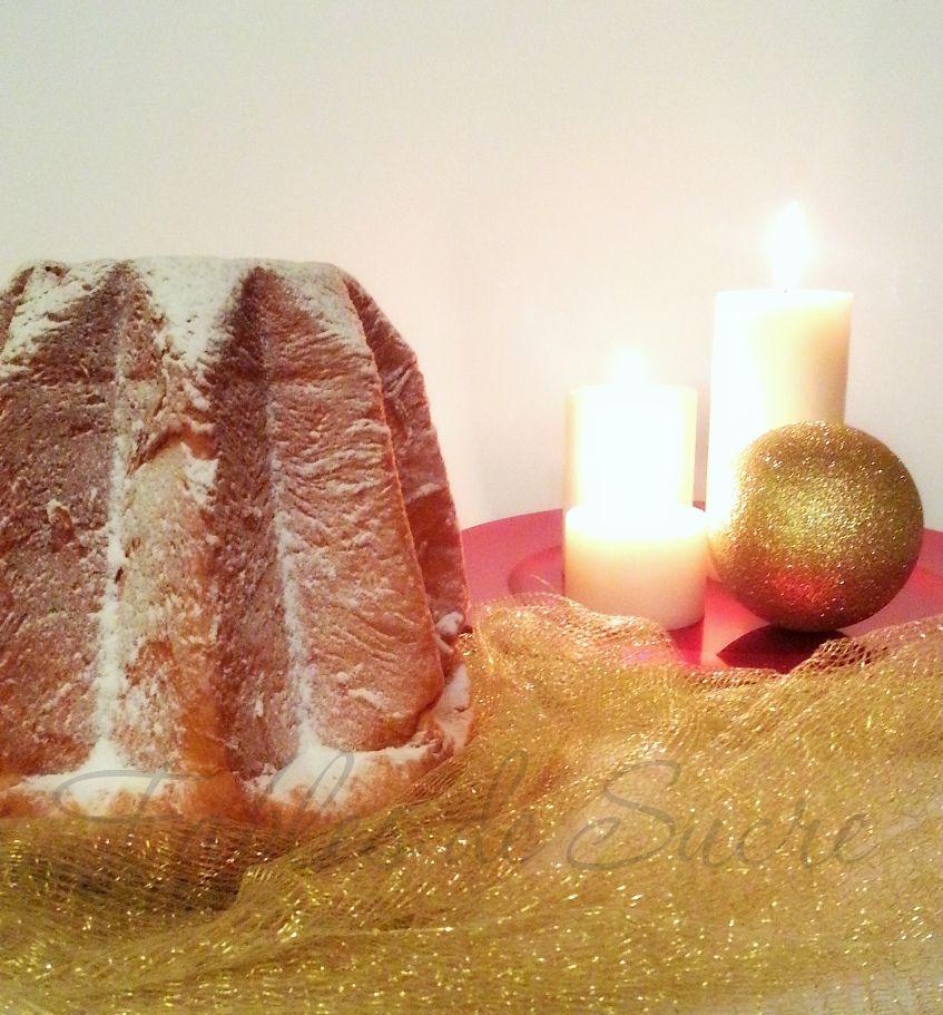 Il Pandoro con lievito naturale e patate a tre impasti è quanto di più buono e più soffice si possa immaginare di assaggiare durante le festività del Natale