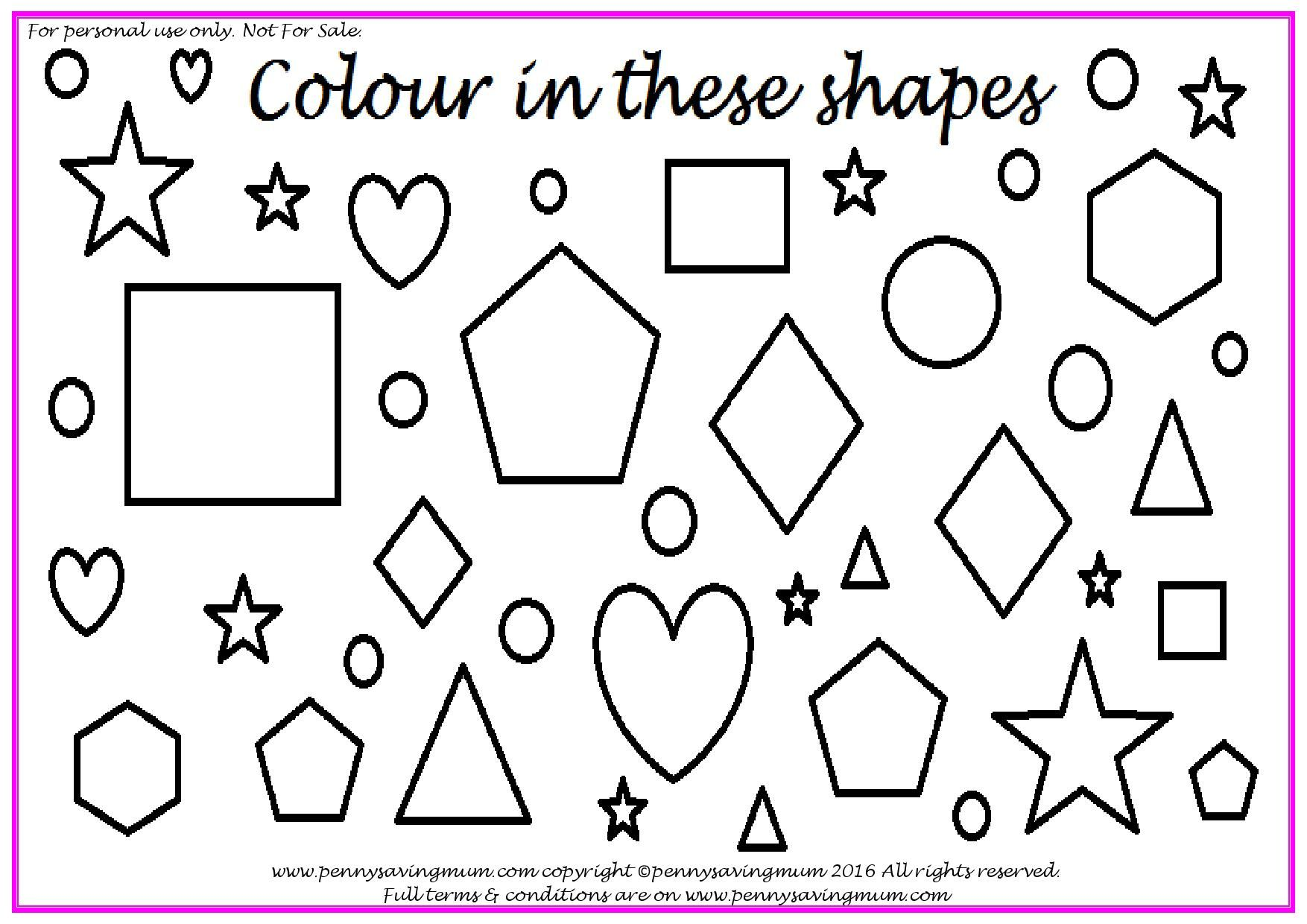 Shapes Pack (Page 11 of 11) Shapes, Saving, Penny