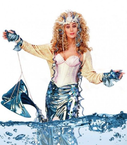 101 Halloween Costume Ideas for Women  to be Cher- c'mon and! a mermaid  hands down my choice for this years #dreamcoustume  #rockthatheriongirlie! #celebrities #celebrities #halloween #costumes