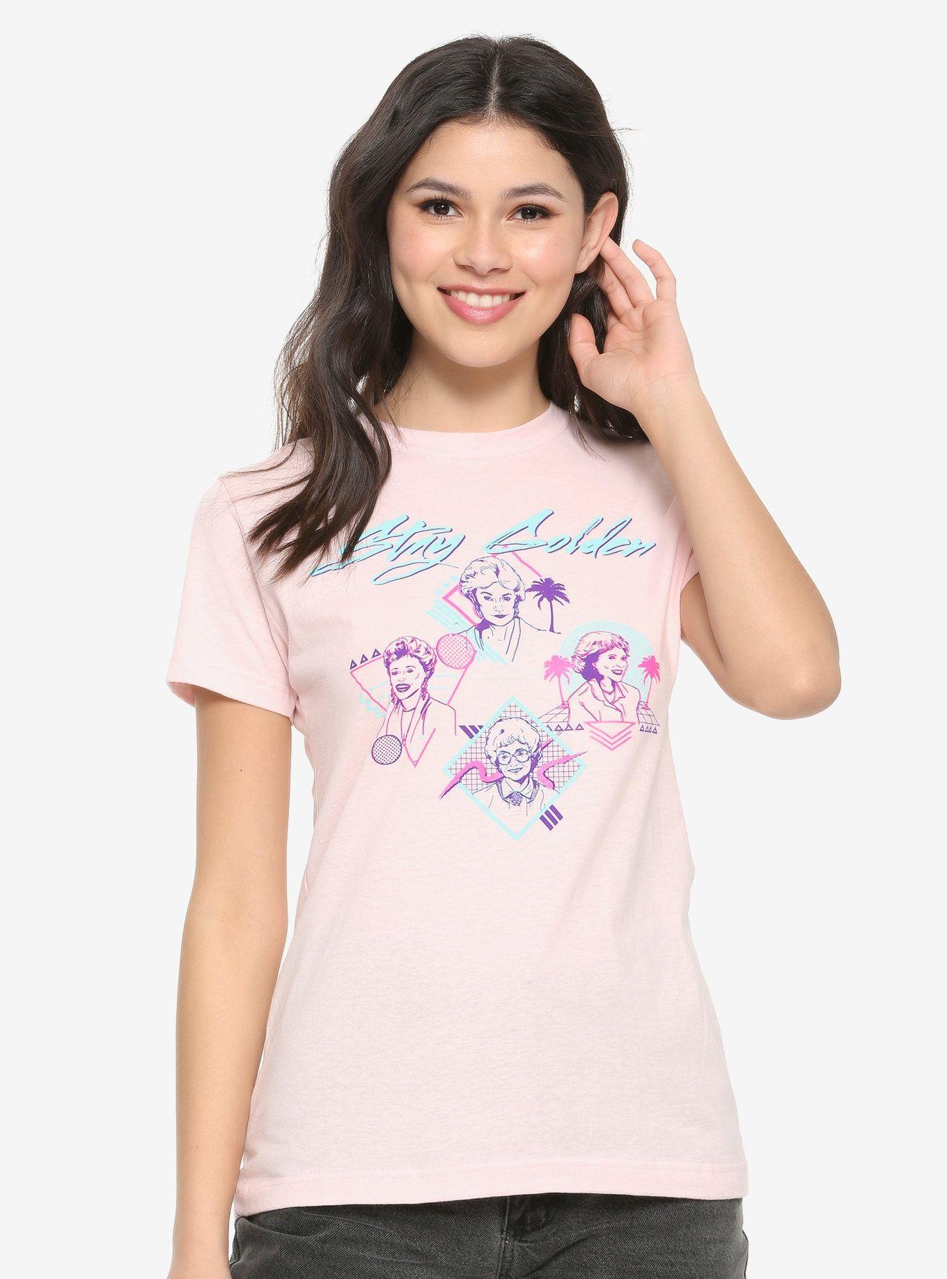 ec403c692a The Golden Girls Stay Golden Retro Womens T-Shirt - BoxLunch ...