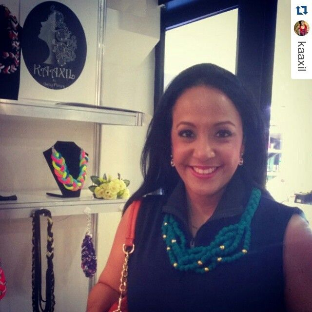 #Repost @kaaxil ・・・ Una clienta linda y consentida luciendo nuestros accesorios nada como ver la sonrisa en nuestras clientas dominicanas. Puedes encontrar este y muchos diseños más en el fashion week en acropolis center @kaaxil #kaaxilgirl #dondetodocomienza #rdfw #rdfashionweek #rdfwoficial