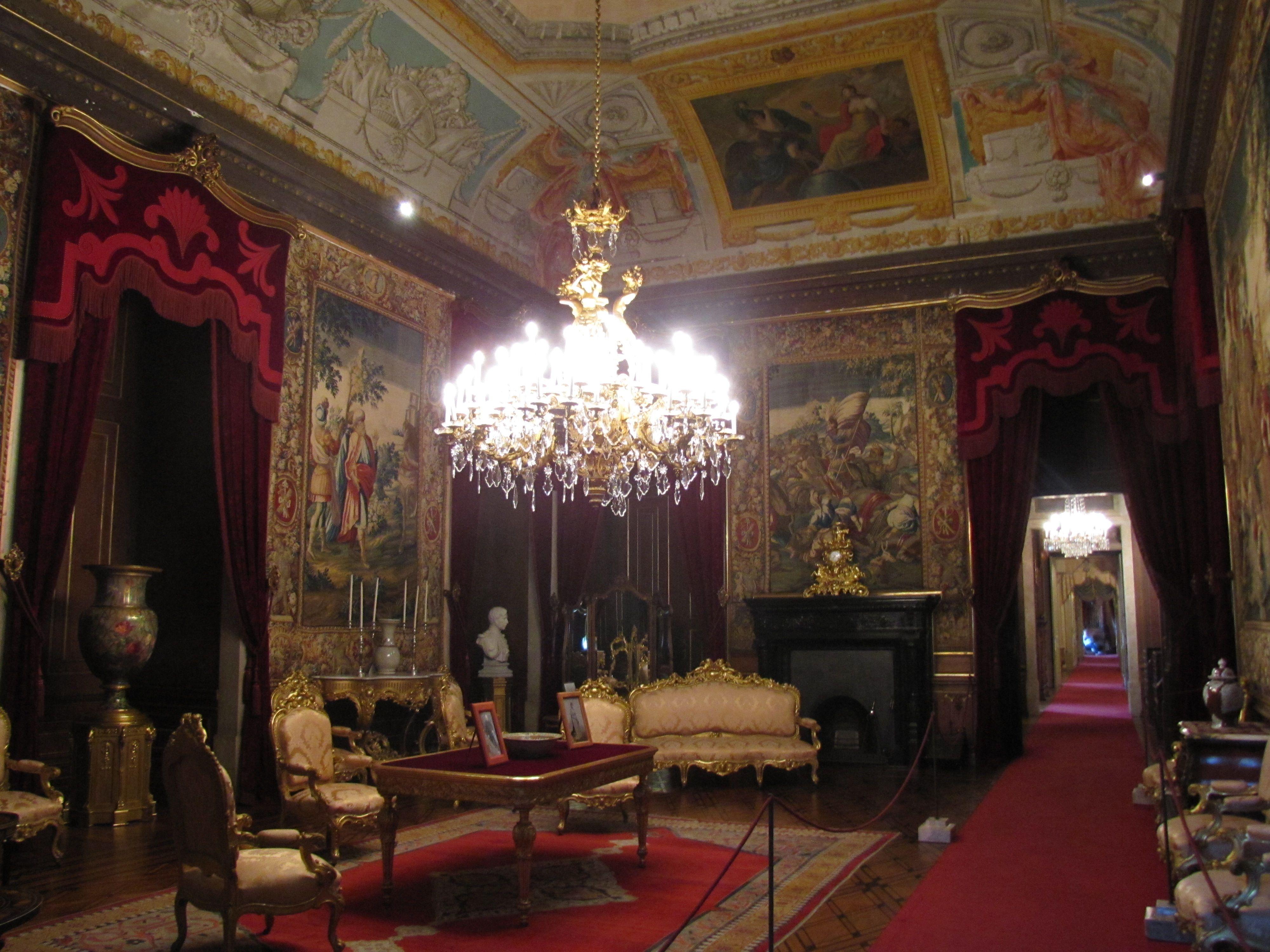 Palacio_Ajuda_-_Grande_Sala_de_Despacho.jpg (4000×3000) Belem, Lisboa, Portugal