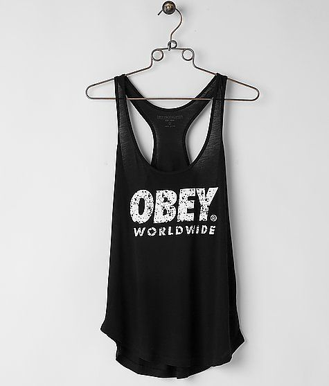 0cc5016a0a0824 OBEY Painted Futura Tank Top