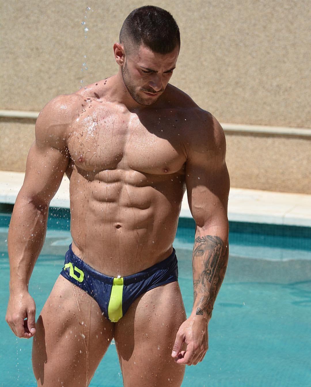 dc4b03734 Traje De Baño Hombre · Nacho Moreno Madero. Perfect male! Abdominales