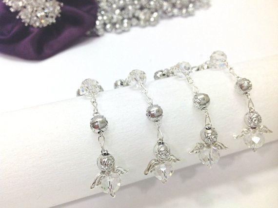 50 PC Angel perla primera comunión favorece 50pz por AVAandCOMPANY