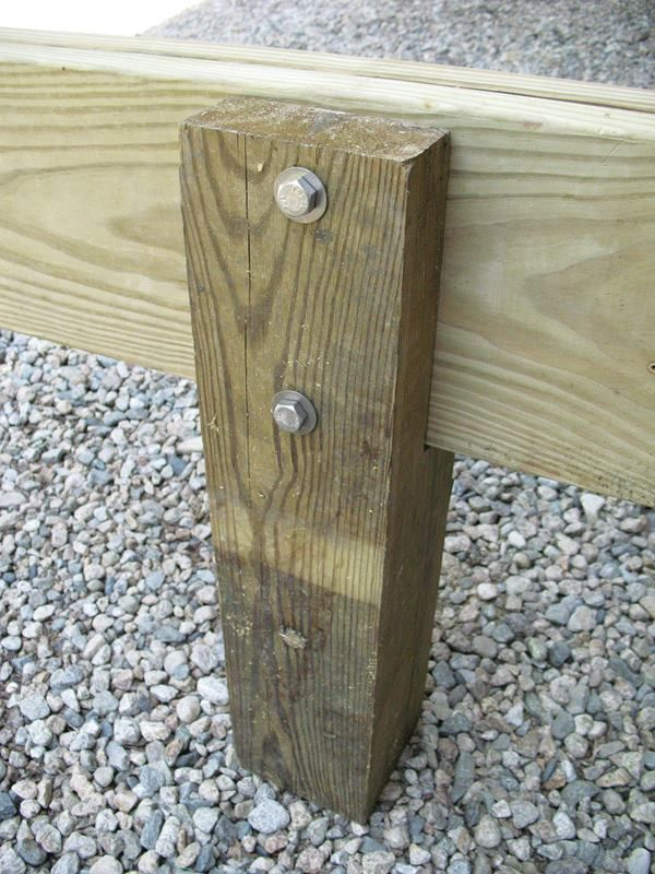 Wood Post Brackets 4X4 To 6X6 | Wooden Thing