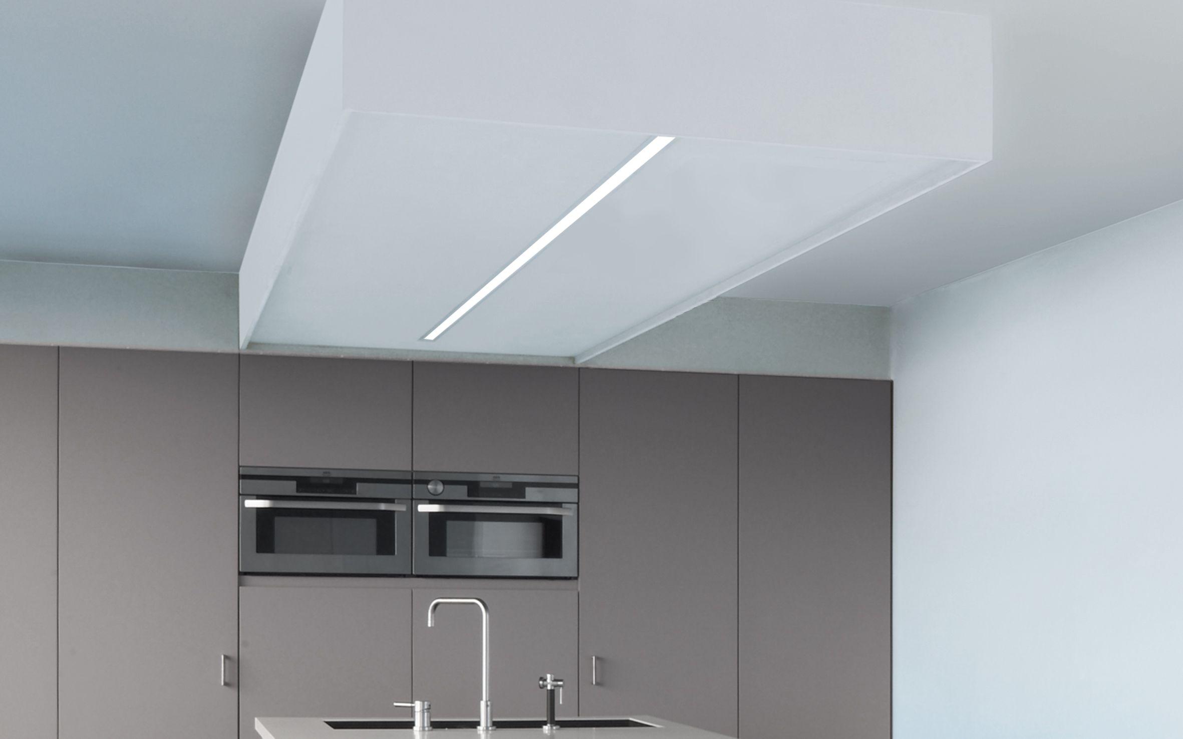 2U recessed profile system. Kitchen lighting. Design by TAL | TAL ...